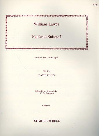 8 Fantasia-Suites vol.1: for violin, bass viol and organ