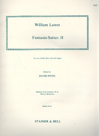 8 Fantasia-Suites vol.2: for violin, bass viol and organ