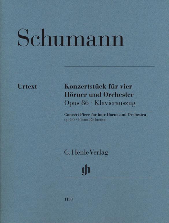 Schumann, Robert - Konzertstück für 4 Hörner und Orchester