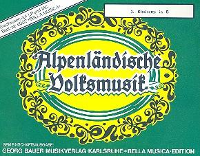 Alpenländische Volksmusik: für Blasorchester Klarinette 3
