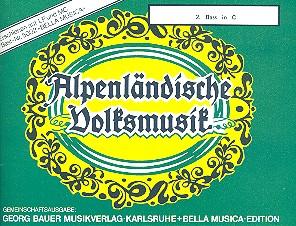 Alpenländische Volskmusik: für Blasorchester Bass 2 in C