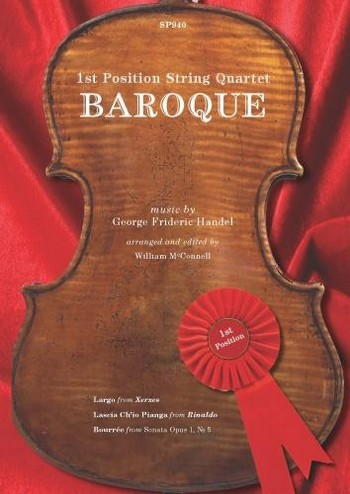 1st Position String Quartet - Baroque: for 2 violins, viola and cello