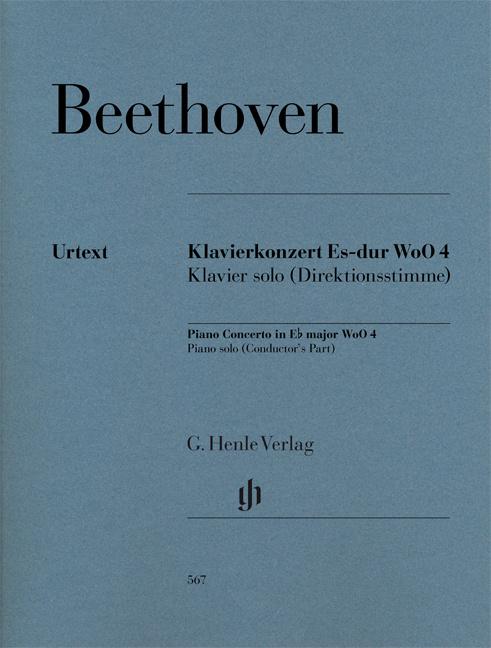 Beethoven, Ludwig van - Konzert Es-Dur WoO4 : für Klavier und