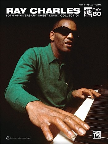 Ray Charles: 80th Anniversary Collection songbook piano/vocal/guitar