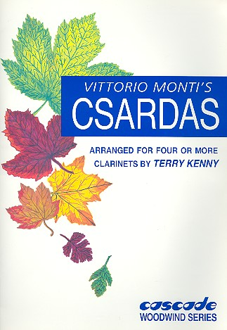 Csardas: for 4 or more clarinets