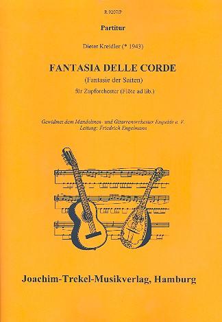 Fantasia delle Corde: für Zupforchester (Flöte ad lib.)
