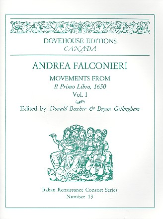 Movements from Il libro primo vol.1: for 2 violins (flutes/recorders/viols) and Bc