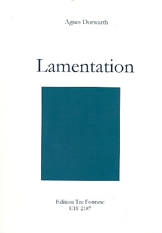 Lamentation: für Tenorblockflöte