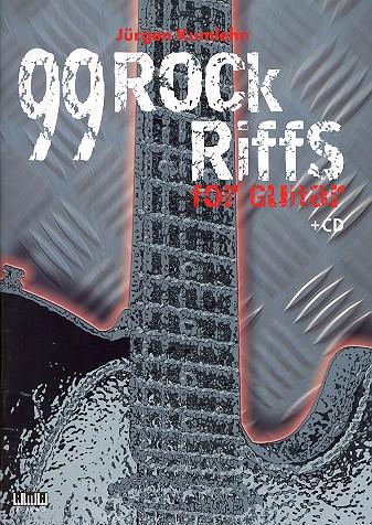 99 Rock Riffs (+CD): für Gitarre/Tabulatur