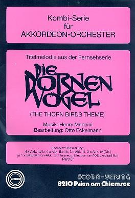 Die Dornenvögel (Titelmelodie): für Akkordeonorchester