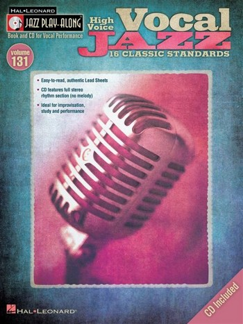 Vocal Jazz (+CD): for high voice songbook melody line/lyrics/chords