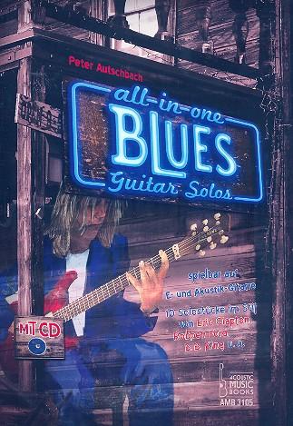 All-in-one - Blues Guitar Solos (+CD): für Gitarre/Tabulatur