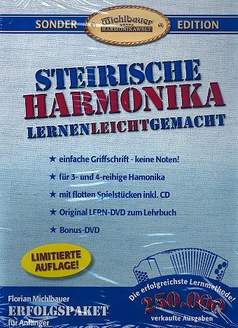 Steirische Harmonika lernen leichtgemacht: Paket (+2 DVD\