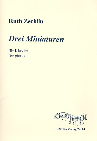 3 Miniaturen: für Klavier