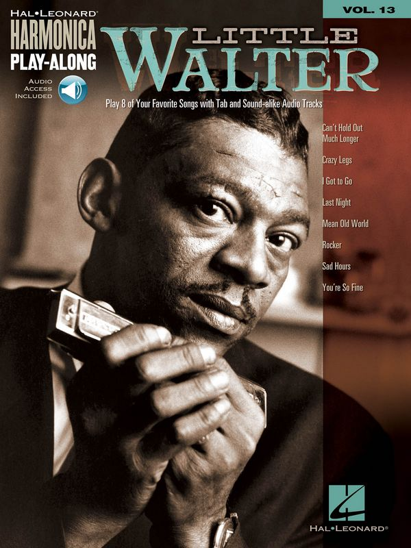 Harmonica Play-along vol.13 (+CD): Little Walter