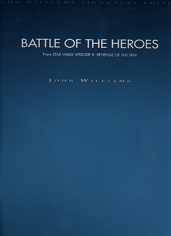 Battle of the Heroes: for orchestra score