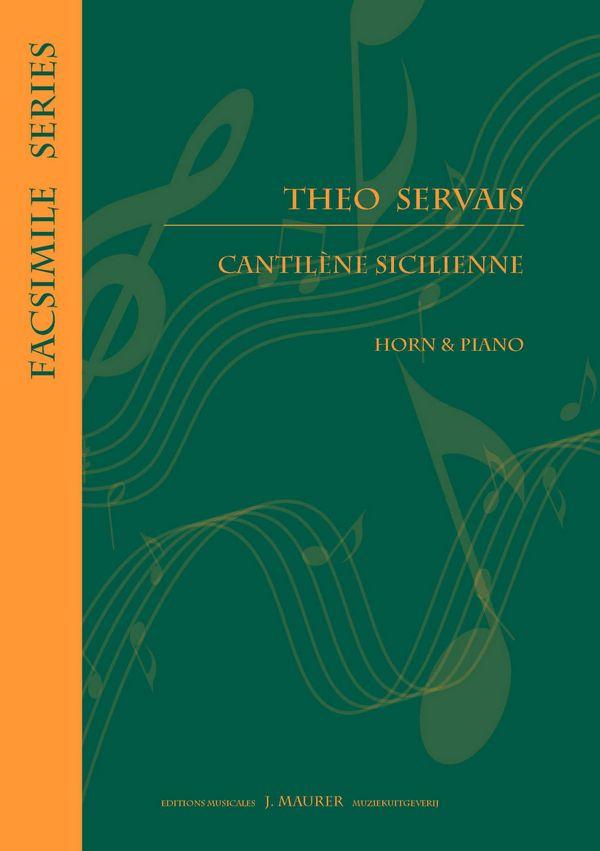 Cantilène Sicilienne: pour cor et piano