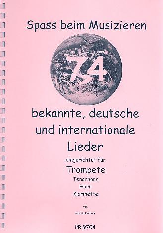 Spaß beim Musizieren: für Trompete (Tenorhorn/Horn/Klarinette)