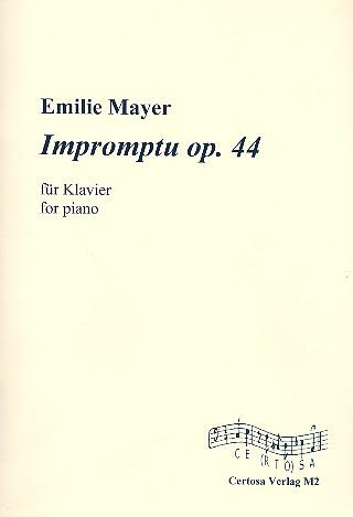Impromptu opus.44: für Klavier