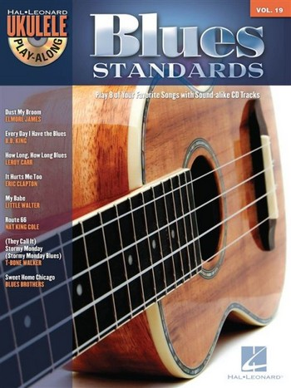Blues Standards (+CD): ukulele playalong vol.19 songbook melody line/lyrics/uke chords