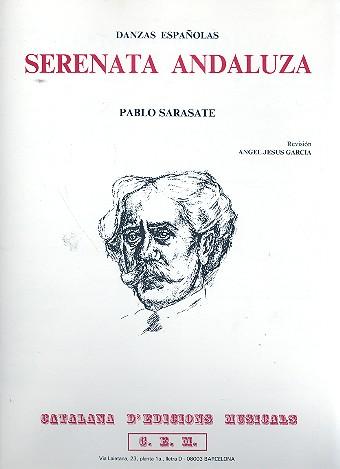 Serenata andaluza opus.10: para violin y piano