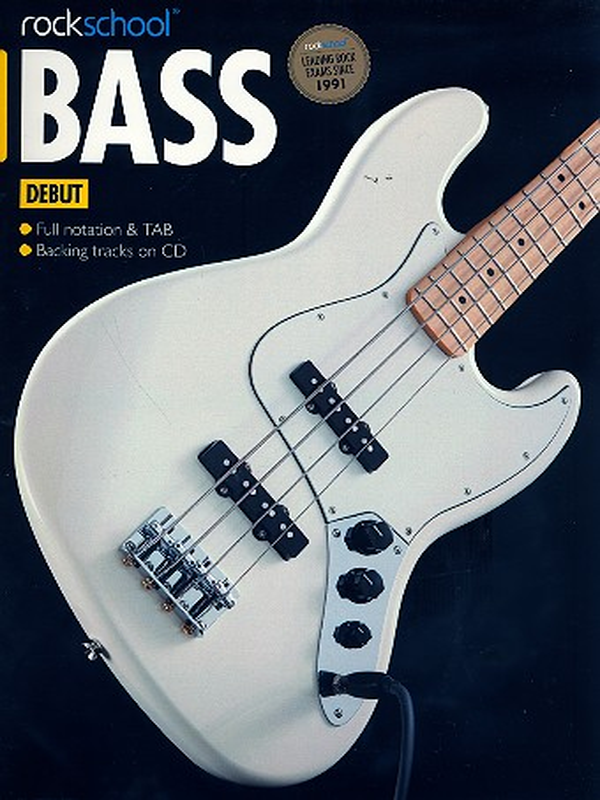 Rockschool 2012-2018 Debut (+CD): for bass/tab
