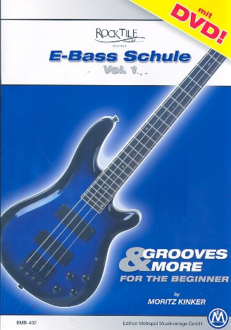 Rocktile E-Bass-Schule Band 1 (+DVD)