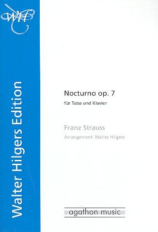 Strauss, Franz - Nocturno op.7 : für Tuba und Klavier