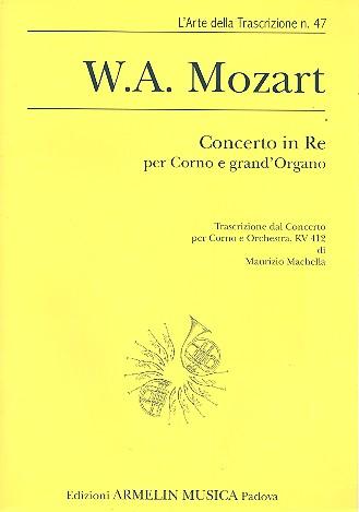 Concerto re maggiore no.1 KV412