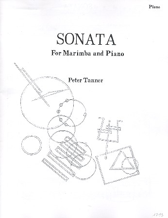 Sonata: for marimba and piano