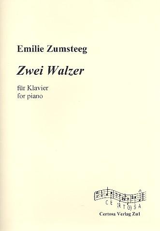 2 Walzer: für Klavier
