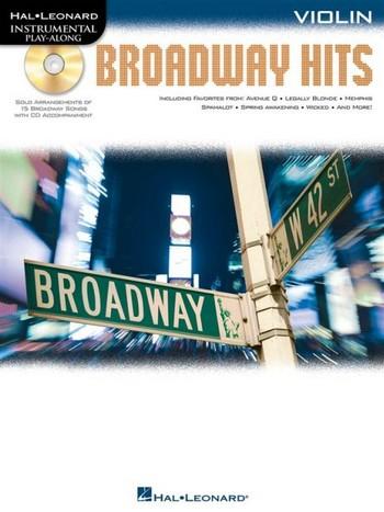 Broadway Hits (+CD): for violin