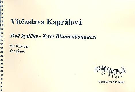 2 Blumenbouquets: für Klavier