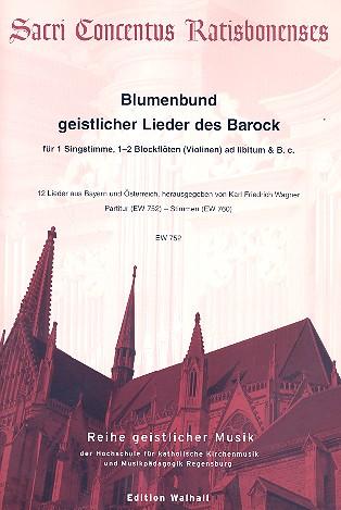 - Blumenbund geistlicher Lieder des Barock :