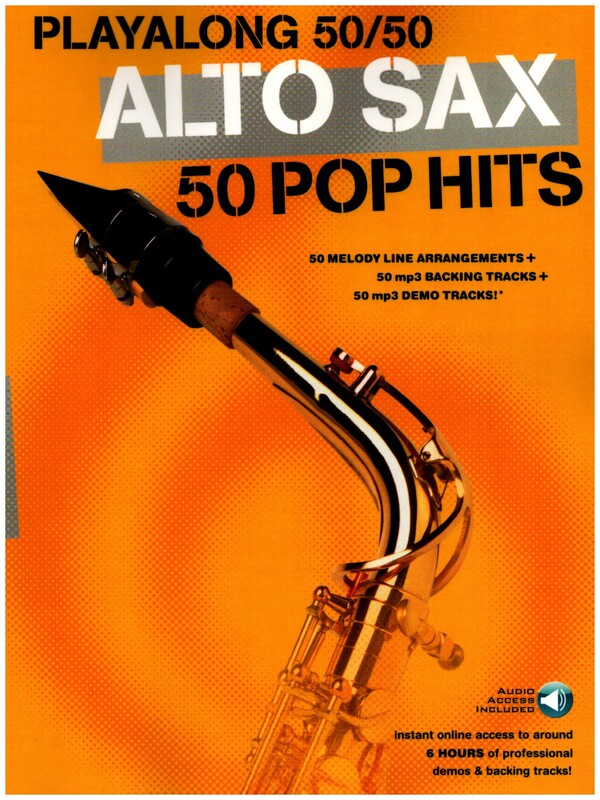 50 Pop-Hits (+MP3-CD): for alto saxophone