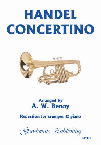 Concertino for trumpet and strings: for trumpet and piano