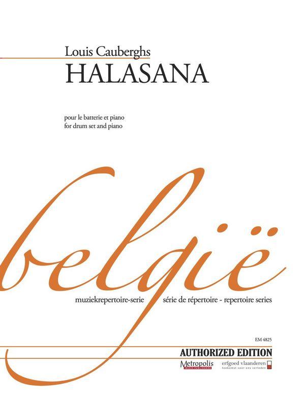 Halasana: for drum set and piano