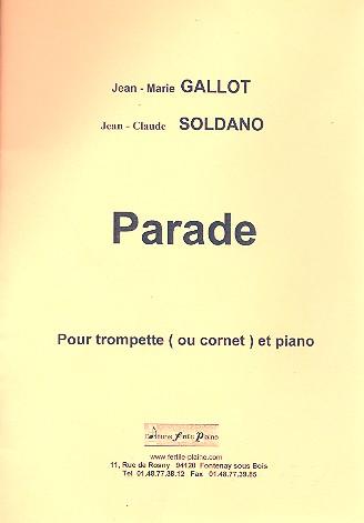 Parade: pour trompette (cornet) et piano