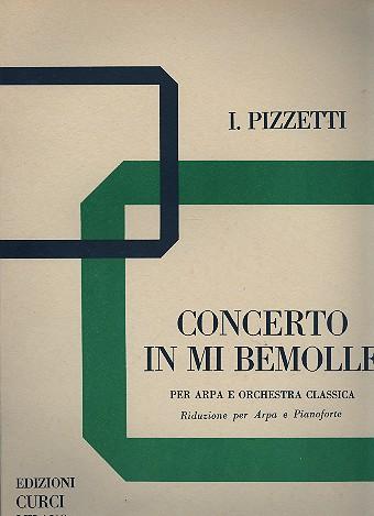 Concerto mi bemolle maggiore per arpa e orchestra: per arpa e pianoforte