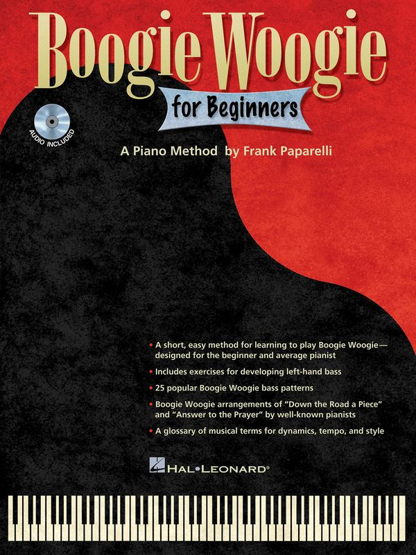 Boogie Woogies for Beginners (+CD): for piano