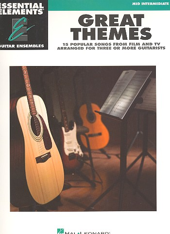 Essential Elements - Great Themes: for 3 guitars (ensemble)