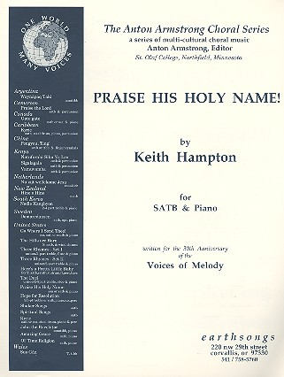 Praise his holy Name: for mixed chorus and piano