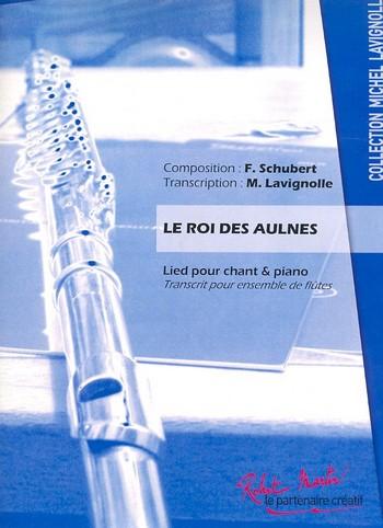 Der Erlkönig: für Flöten-Ensemble und Violoncello