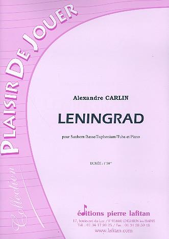 Leningrad: pour saxhorn basse/euphonium/
