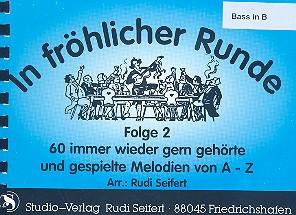 In fröhlicher Runde Band 2: für Blasorchester