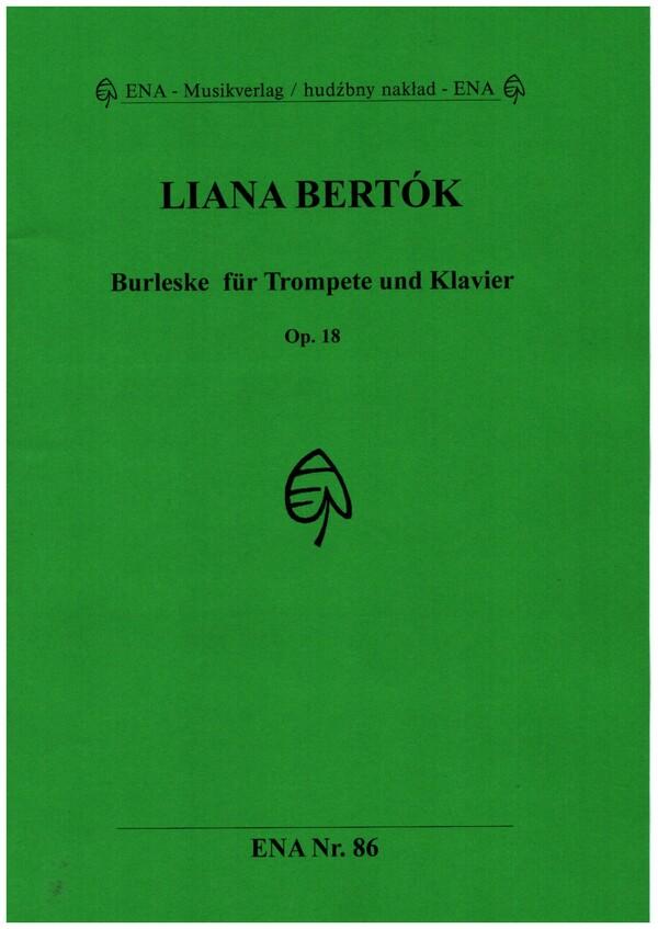 Burleske opus.18: für Trompete und Klavier