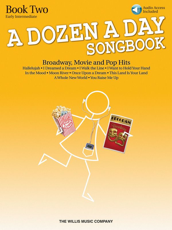 A Dozen a Day vol.2 - Broadway, Movie and Pop Hits (+CD): for piano