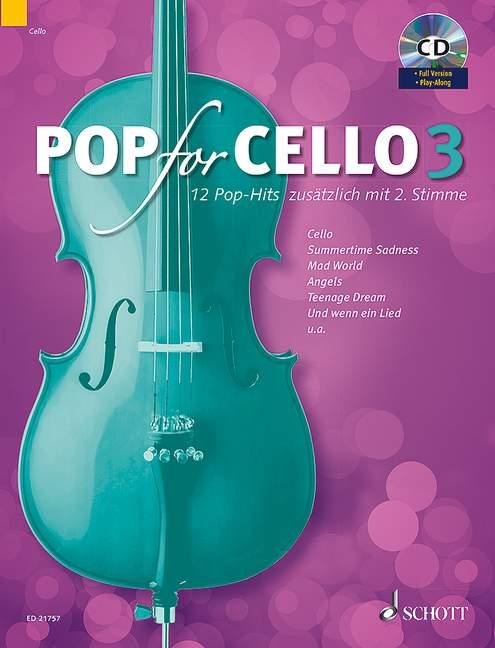 - Pop for Cello Band 3 (+CD) : für 1-2 Violoncelli