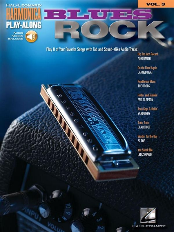 Blues Rock (+CD): harmonica playalong vol.3