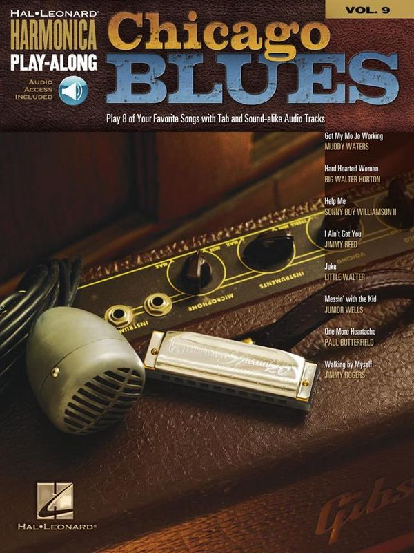 Chicago Blues (+audio access): for harmonica